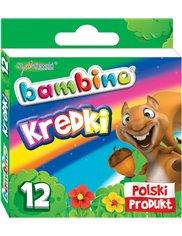 Bambino Kredki z Glinki Kaolinowej (12 kolorów)